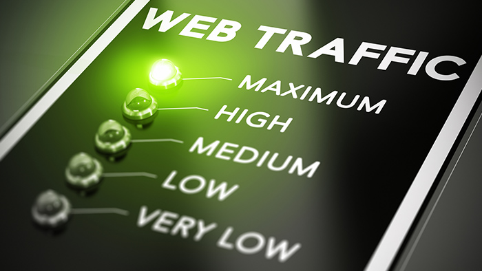 maximum web traffic
